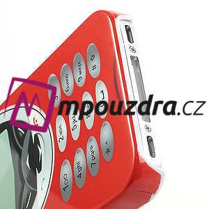 Telefon plastové pouzdro na iPhone 4 4S - 4