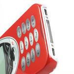 Telefon plastové pouzdro na iPhone 4 4S - 4/5