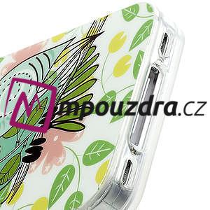 Gelové pouzdro na iPhone 4 4S - sova - 4