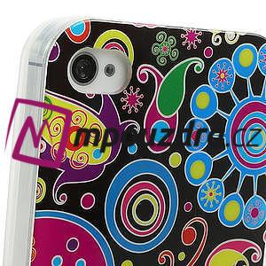 Gelové pouzdro na iPhone 4 4S - vzorové - 4