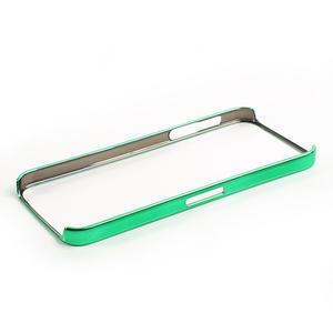 Kovové pouzdro pro iPhone 5, 5s- zelený rámeček - 4