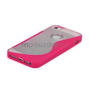 S-line hybrid pouzdro pro iPhone 5, 5s- růžové - 4