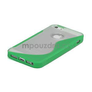 S-line hybrid pouzdro pro iPhone 5, 5s- zelené - 4