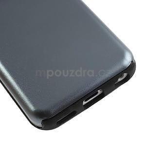 Gelové metalické pouzdro pro iPhone 5C- šedé - 4