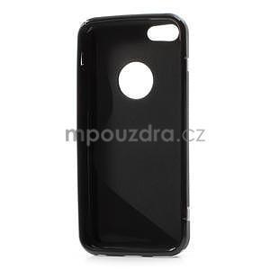 Gelové S-line pouzdro pro iPhone 5C- černé - 4