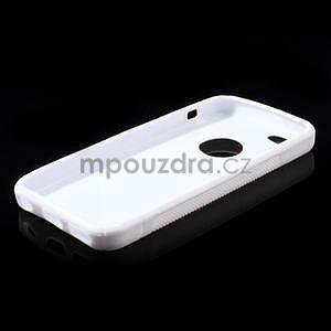 Gelové S-line pouzdro pro iPhone 5C- bílé - 4