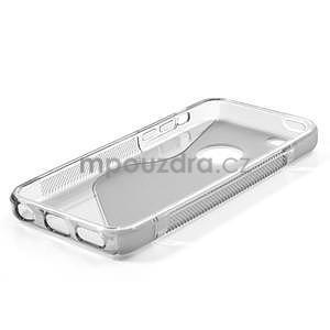 Gelové S-line pouzdro pro iPhone 5C- šedé - 4