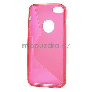 Gelové S-line pouzdro pro iPhone 5C- růžové - 4