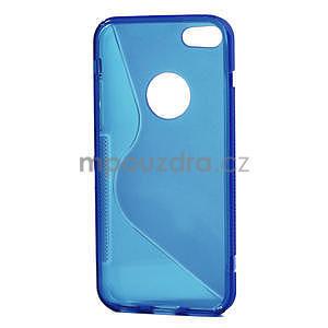 Gelové S-line pouzdro pro iPhone 5C- modré - 4