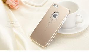 Hliníkové pouzdro na iPhone 5, 5s- zlaté - 4