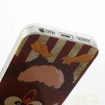 Gelové pouzdro na iPhone 5, 5s- kuřecí americká vlajka - 4/5