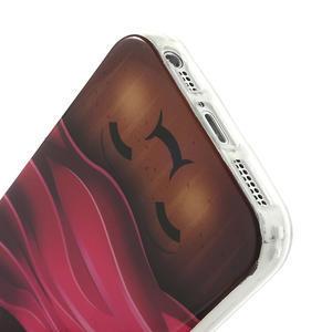 Gelové pouzdro na iPhone 5, 5s- Cherry - 4