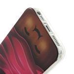 Gelové pouzdro na iPhone 5, 5s- Cherry - 4/5