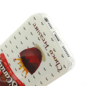 Gelové pouzdro na iPhone 5, 5s- US Candy - 4