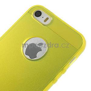 Gel-ultra slim pouzdro pro iPhone 5, 5s- žluté - 4