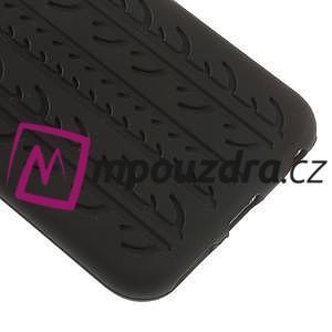 Silikonové pneu na iPhone 6, 4.7 - černé - 4
