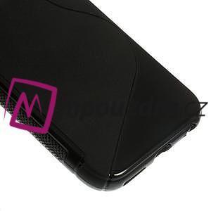 Gelové S-line pouzdro na iPhone 6, 4.7 - černé - 4