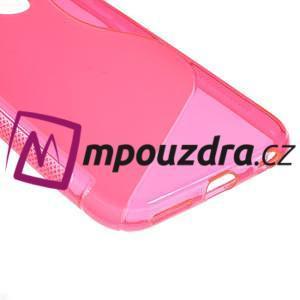 Gelové S-line pouzdro na iPhone 6, 4.7 - růžové - 4