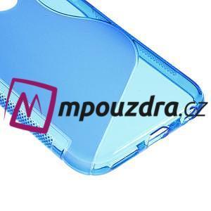 Gelové S-line pouzdro na iPhone 6, 4.7 - modré - 4