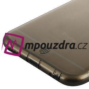 Ultra slim 0.7 mm gelové pouzdro na iPhone 6, 4.7  - šedé - 4