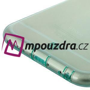 Ultra slim 0.7 mm gelové pouzdro na iPhone 6, 4.7  - modré - 4