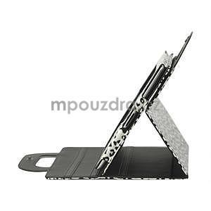 Leopard pouzdro pro iPad 2, 3, 4- bílé - 4