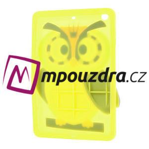 Silikonové pouzdro na iPad mini 2 - žlutá sova - 4