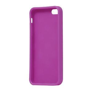 Gelové PUNTÍK pouzdro pro iPhone 5, 5s- fialový - 4