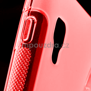 Gelové S-line  pouzdro pro LG Optimus L5 II E460- červené - 4