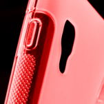 Gelové S-line  pouzdro pro LG Optimus L5 II E460- červené - 4/5