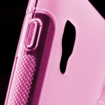 Gelové S-line  pouzdro pro LG Optimus L5 II E460- růžové - 4/5