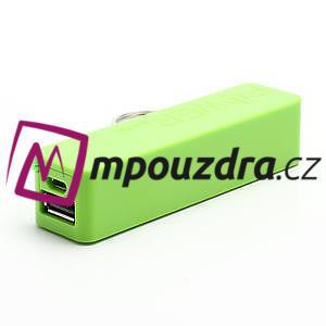 2600mAh externí baterie Power Bank - zelená - 4