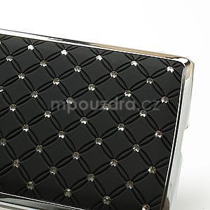 Drahokamové pouzdro pro HTC Desire 600- černé - 4