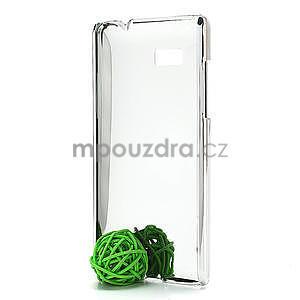 Drahokamové pouzdro pro HTC Desire 600- bílé - 4