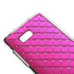 Drahokamové pouzdro pro HTC Desire 600- růžové - 4/5