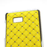 Drahokamové pouzdro pro HTC Desire 600 -žluté - 4/5