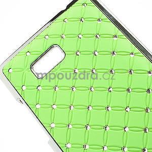 Drahokamové pouzdro pro HTC Desire 600- zelené - 4