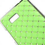 Drahokamové pouzdro pro HTC Desire 600- zelené - 4/5