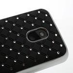 Drahokamové pouzdro na Nokia Lumia 620- černé - 4/6