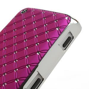 Drahokamové pouzdro na Nokia Lumia 620- růžové - 4