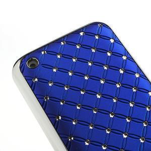 Drahokamové pouzdro na Nokia Lumia 620- modré - 4