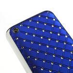 Drahokamové pouzdro na Nokia Lumia 620- modré - 4/4