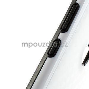Hybridní 3D pouzdro pro Nokia Lumia 925- bílé - 4
