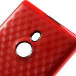 Hybridní 3D pouzdro pro Nokia Lumia 925- červené - 4/5