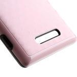 Hybridní 3D pouzdro pro Nokia Lumia 925- růžové - 4/5