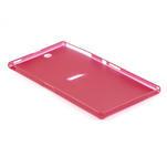 Ultra slim pouzdro na Sony Xperia Z ultra- červené - 4/5