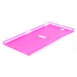 Ultra slim pouzdro na Sony Xperia Z ultra- růžové - 4/5