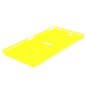 Ultra slim pouzdro na Sony Xperia Z ultra- žluté - 4