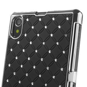 Drahokamové pouzdro na Sony Xperia Z1 C6903 L39- černé - 4