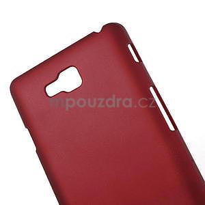 Pogumované  pouzdro pro LG Optimus L9 II D605- červené - 4